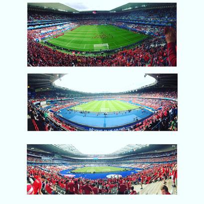 Die drei Stadien in denen Österreich die Gruppenspiele bestritt