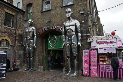 Camden - Cyberdog ... ein schriller Kleider-usw-Laden