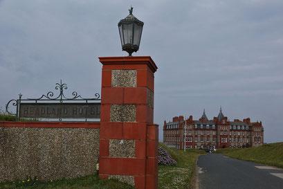 The Headland - ein klassisches Hotel direkt an der Atlantikküste in Newquay. Dient immer wieder als Drehort für die Rosamunde Pilcher-Filme