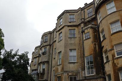 Bath - the Circus, Rückseite ... da wird wohl bald mal eine Grossrenovation notwendig sein