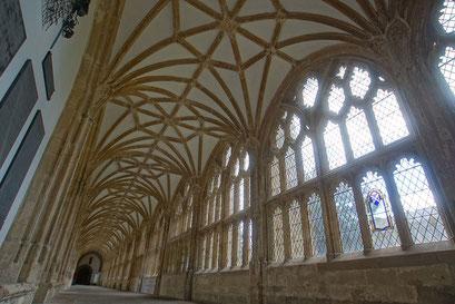 Wells - Kreuzgang bie der Kathedrale
