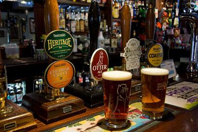 Falmouth - ein lokales Bier muss sein