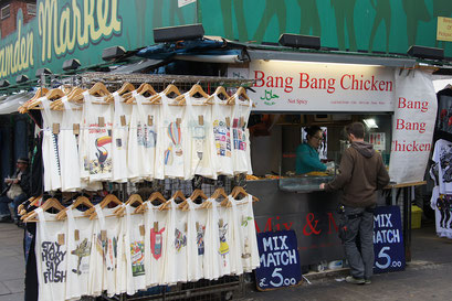 Camden Market mit einem wunderfeinem Asiaten