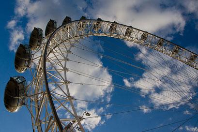 """Das Riesenrad """"London Eye"""""""