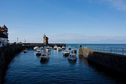 Lynmouth - Hafen bei Flut