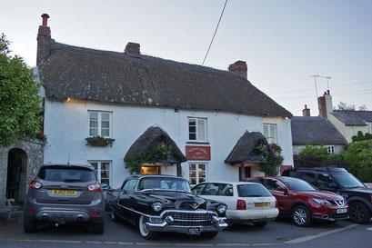 Typische Inn mit Pub - hier am Rand des Dartmoor Nationalparks