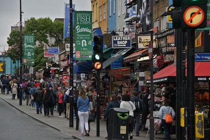 Camden ... ein wunderbar alternativer Stadtteil