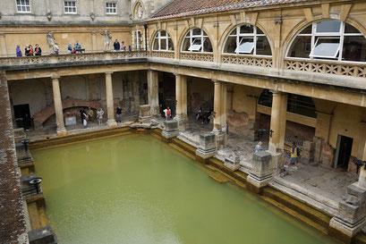 Bath - Römisches Bad aus ca. 75 n. Chr.