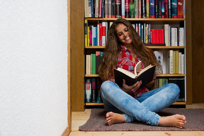 Durch die Bücher blättern ...