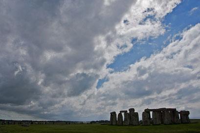 Stonehenge - der auf 3000 v. Chr. datierte Steinkreis. Natürlich ein UNESCO-Welterbe.