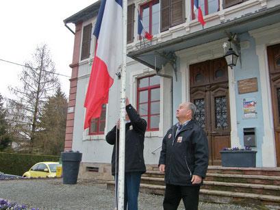 Cérémonie du 19 mars 2012, commémoration du 50e anniversaire