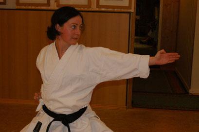 Fischlein-Holtz, Tanja | Karate seit 1997 | 1.Dan am 26.09.2009 bei Ochi Sensei in Hennef
