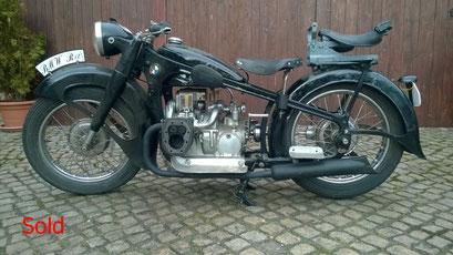 BMW R12 Bj. 1938