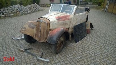 DKW F7 Luxus - Cabrio Bj. 1938