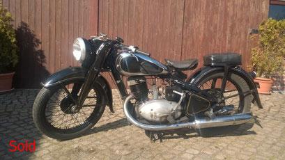 DKW NZ 350 Bj. 1940