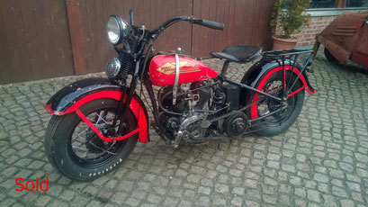 Harley Davidson VLD Bj. 1935
