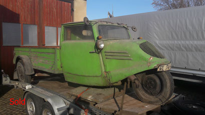 Tempo Dreirad A400 Bj. 1941