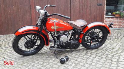 Harley Davidson Modell DL 1930
