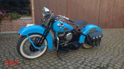 Harley Davidson WLA Bj 1942