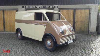 DKW Schnelllaster Bj. 1959
