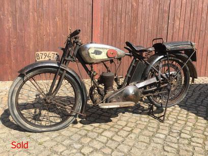 BSA 250ccm Bj. 1924