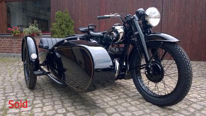 DKW SB500 Bj. 1938