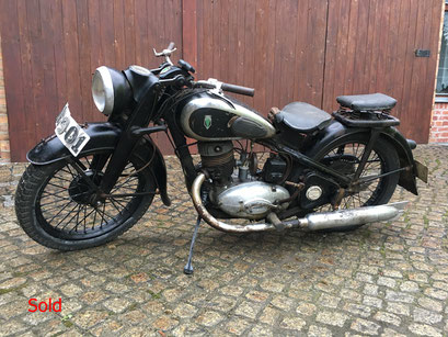 DKW NZ 350 Bj. 1939