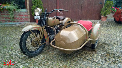 Harley Davidson JD Bj. 1928 1000ccm