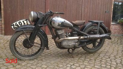 DKW NZ 500 Bj. 1940