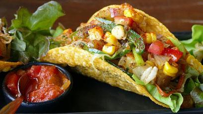 Taco, Gemüse, Salat