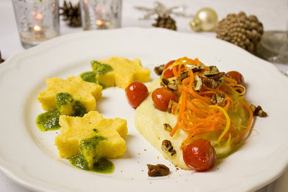 Polenta, Gemüse