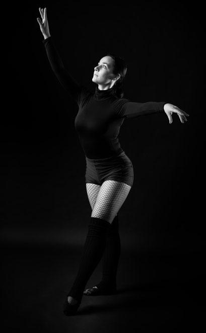 Tanz-Shooting im Fotostudio