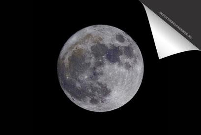 Zwart Volle Maan Inductie Beschermer