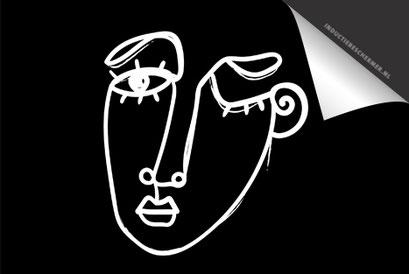 Face Black 3 Inductie Beschermer