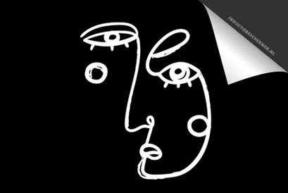 Face Black 2 Inductie Beschermer