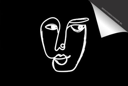 Face Black 1 Inductie Beschermer