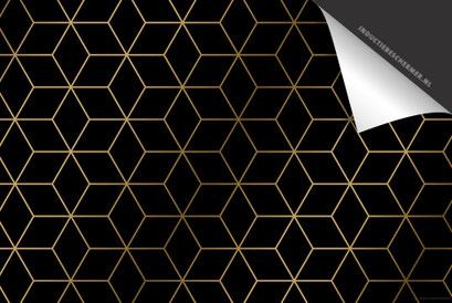 Cubes Goud Inductie Beschermer