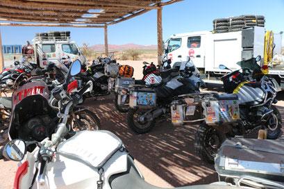 Nein, hier findet keine Rally Dakar statt, sondern...?