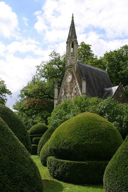 Jardin du château du Pin, MAINE-ET-LOIRE (49)  © Annick Maroussy