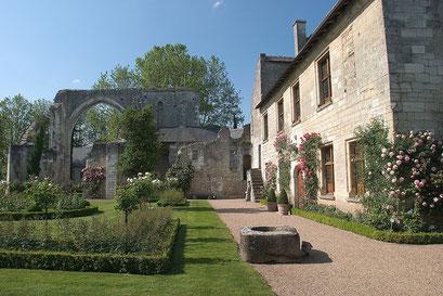 Jardin du Prieuré de Saint-Cosme, INDRE-ET-LOIRE (37) © Annick Maroussy