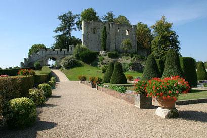 Jardin du château royal de Langeais,  INDRE-ET-LOIRE (37)  © Annick Maroussy