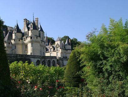 Jardin du château d'Ussé, INDRE-ET-LOIRE (37) © Annick Maroussy