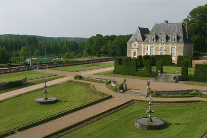 Jardin du château de Valmer, INDRE-ET-LOIRE (37) © Annick Maroussy