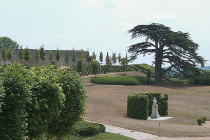 Jardin du châteu royal d'Amboise, INDRE-ET-LOIRE (37)   © Annick Maroussy