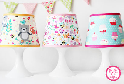 nähfein - Lampenschimbezüge handmade