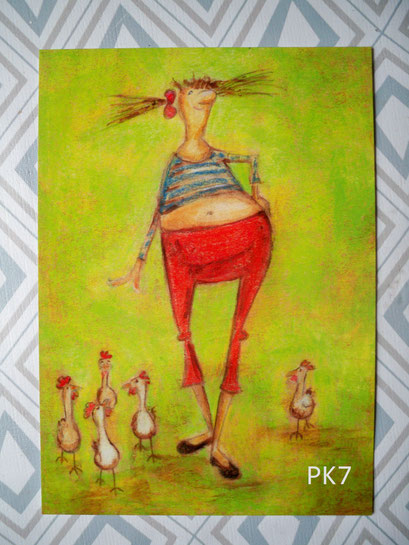 PK7 - Catwalk im Hühnerstall