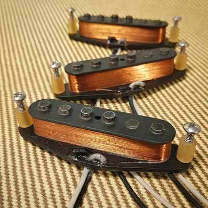 1954 Stratocaster Vintage Clone Pickups artys-custom-guitars.com