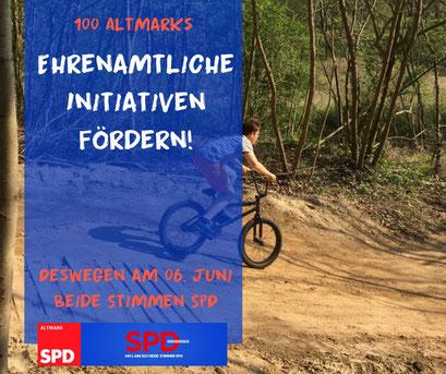 Mountenbike-Bürgerprojekt Stendal