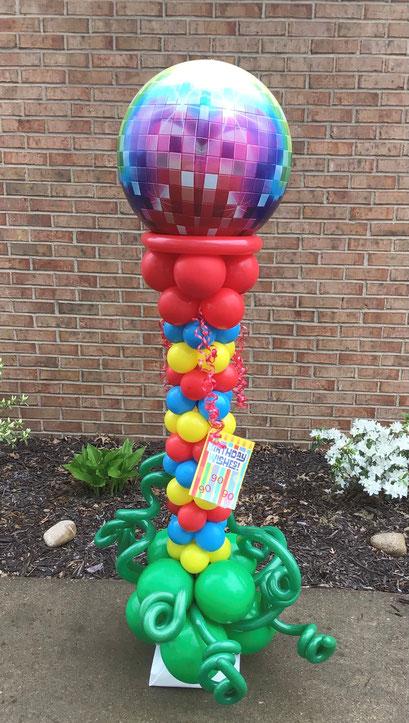 Air-Filled Balloon Sculpture Golf Tee