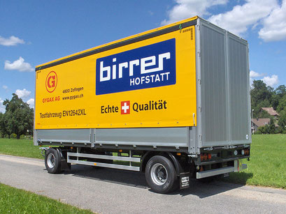 Fahrzeugbau und Spezialkonstruktionen - Alois Birrer AG Fahrzeugbau Hofstatt